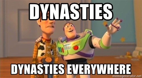 Consequences Toy Story - DYNASTIES DYNASTIES EVERYWHERE