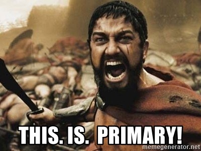 300 -  This. is.  primary!