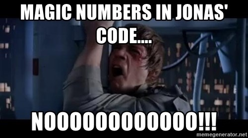 Luke skywalker nooooooo - magiC NUMBERS IN JONAS' CODE.... NOOOOOOOOOOOO!!!
