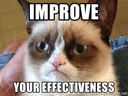 Angry Cat Meme - IMPROVE YOUr EFFECTIVENESS