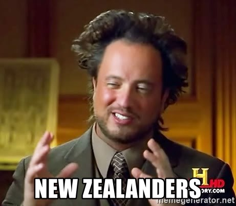 Ancient Aliens -  NEW ZEALANDERS