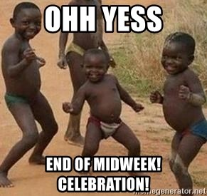 african children dancing - Ohh yess End of midweek! Celebration!