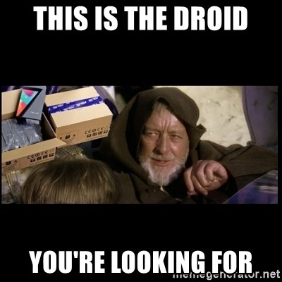 JEDI MINDTRICK - this is the droid you're looking for
