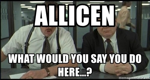 Office space - ALLICEN WHAT WOULD YOU SAY yOU dO HERE...?