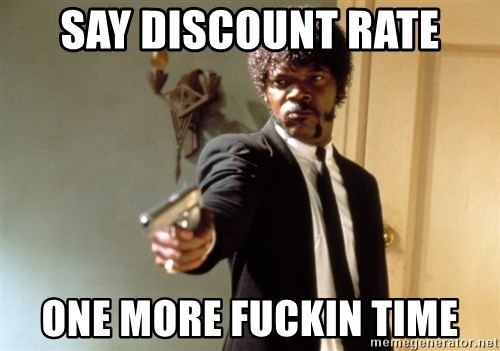 Samuel L Jackson - Say discount Rate one more fuckin time