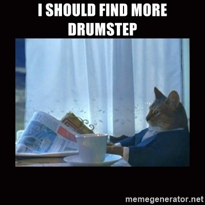 i should buy a boat cat - I should find more drumstep