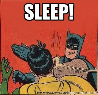 batman slap robin - Sleep!
