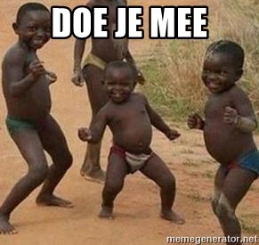 african children dancing - DOE JE MEE