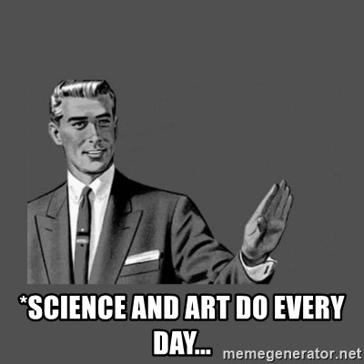 Grammar Guy -  *science and art DO every day...