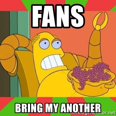 Hedonism Bot - fans bring my another