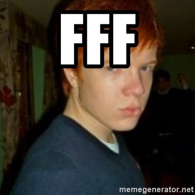 Flame_haired_Poser - FFF