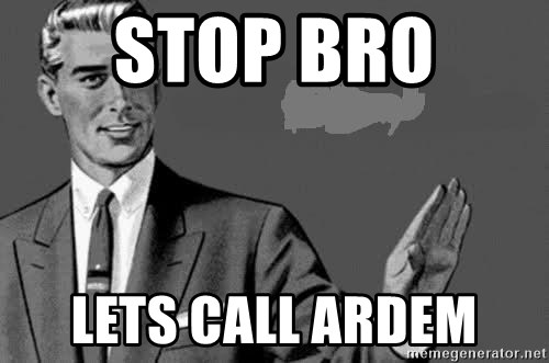 Correction Man  - STOP BRO  LETS CALL ARDEM