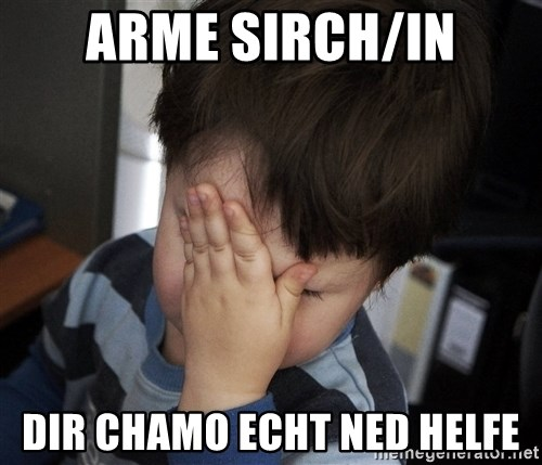 Confession Kid - ARME SIRCH/IN DIR CHAMO ECHT NED HELFE