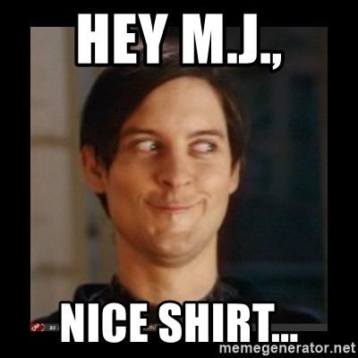 Tobey_Maguire - hey m.j., nice shirt...
