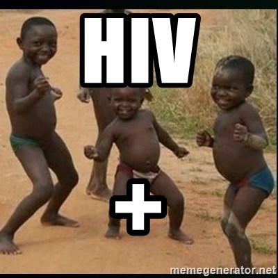 Dancing black kid - HIV +