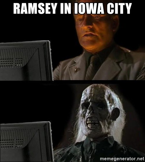 Waiting For - Ramsey in Iowa City
