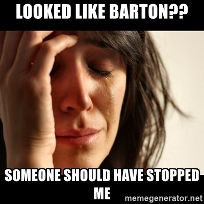 crying girl sad - Looked Like Barton?? SomeOne should haVe stopped Me