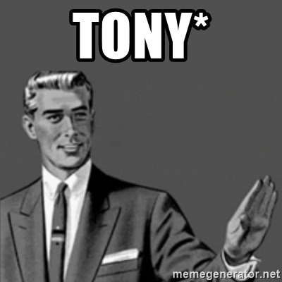 Correction Guy - tony*