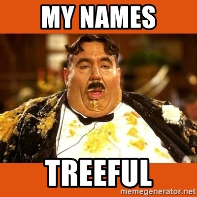 Fat Guy - MY NAMES  TREEFUL