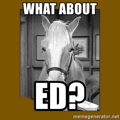 Mr. Ed 2.0 - what about ed?