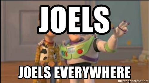 X, X Everywhere  - JOELs JOELs EVERYWHERE