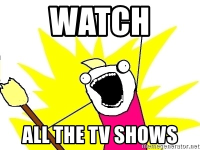 X ALL THE THINGS - Watch  all the TV shows