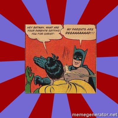 Batman Slapping Robin -