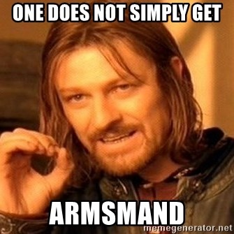One Does Not Simply - ONE DOES NOT SIMPLY GET ARMSMAND