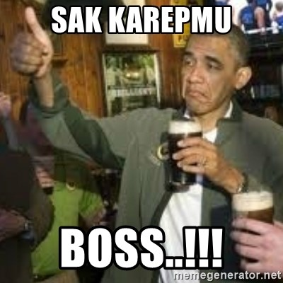 obama beer - SAK KAREPMU BOSS..!!!