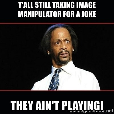 katt williams shocked - y'all still taking image manipulator for a joke they ain't playing!