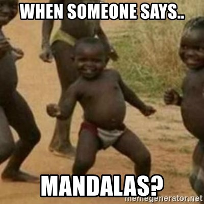 Black Kid - when someone says.. mandalas?