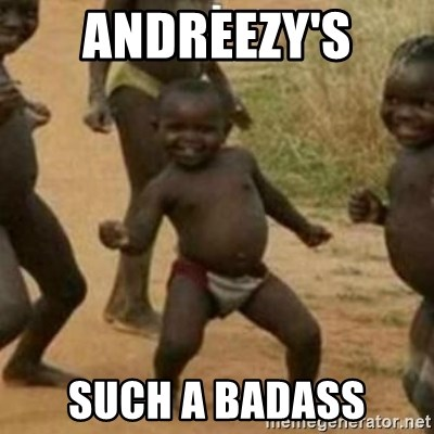Black Kid - ANDREEZY'S SUCH A BADASS