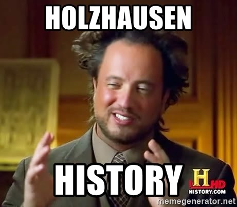 Ancient Aliens - Holzhausen HISTORy