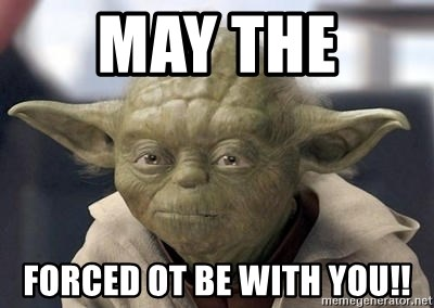 Master Yoda - May the  Forced ot be with you!!