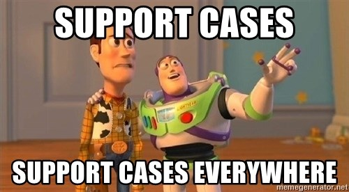 Consequences Toy Story - support cases support cases everywhere