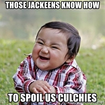 evil toddler kid2 - those jackeens know how to spoil us culchies