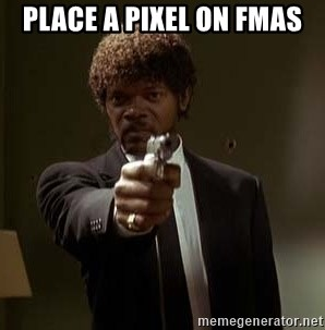 Jules Pulp Fiction - Place a pixel on FMAS