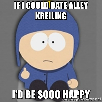 South Park Craig - if i could date Alley Kreiling I'd be sooo happy