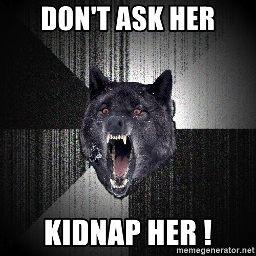 Insanity Wolf - DON'T ASK HER KIDNAP HER !