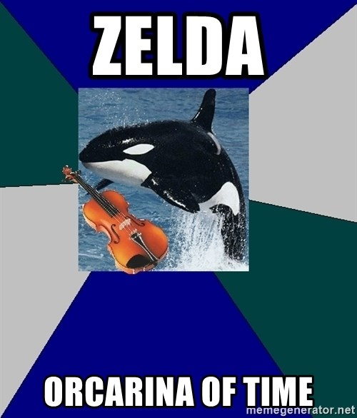 The Orchestra Orca - Zelda Orcarina Of time