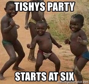 african children dancing - TISHYS PARTY  STARTS AT SIX