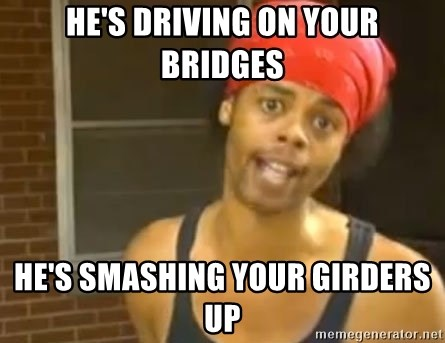 Antoine Dodson - He's driving on your bridges he's smashing your girders up