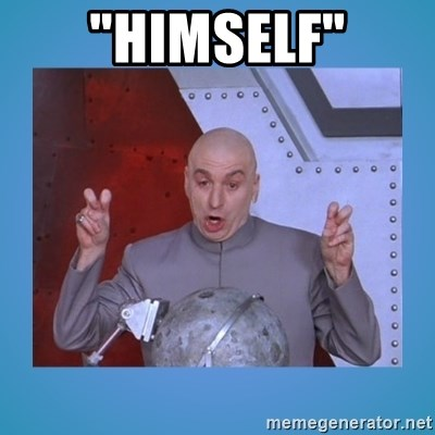 "dr. evil laser - ""HIMSELF"""