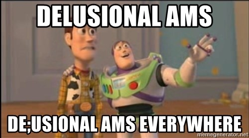 X, X Everywhere  - delusional ams de;usional ams everywhere