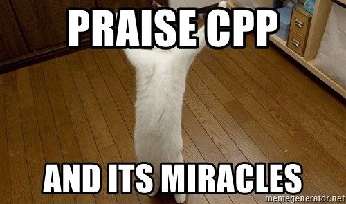 praise the lord cat - Praise cPP And its miracles