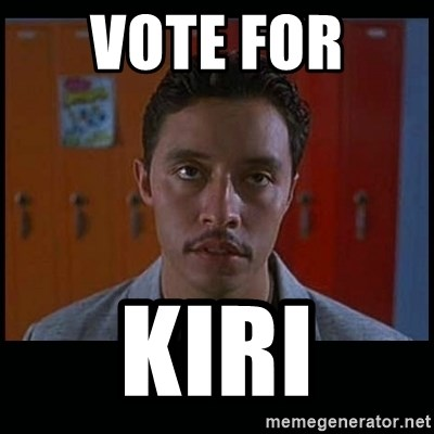 Vote for pedro - VOtE for  KIRI