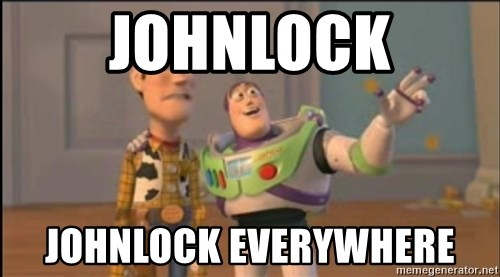 X, X Everywhere  - Johnlock Johnlock everywhere