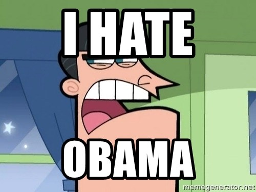 i blame dinkleberg - I HATE  OBAMA