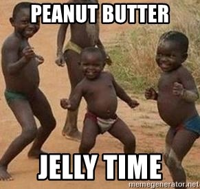 african children dancing - PEANUT BUTTER JELLY TIME