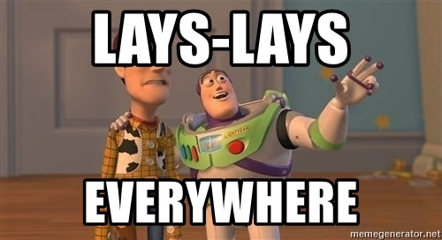 ORIGINAL TOY STORY - lays-lays everywhere